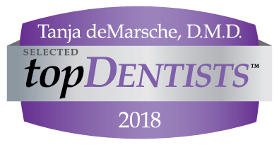 Tanja, deMarche D.M.D. selected Top Dentists 2018